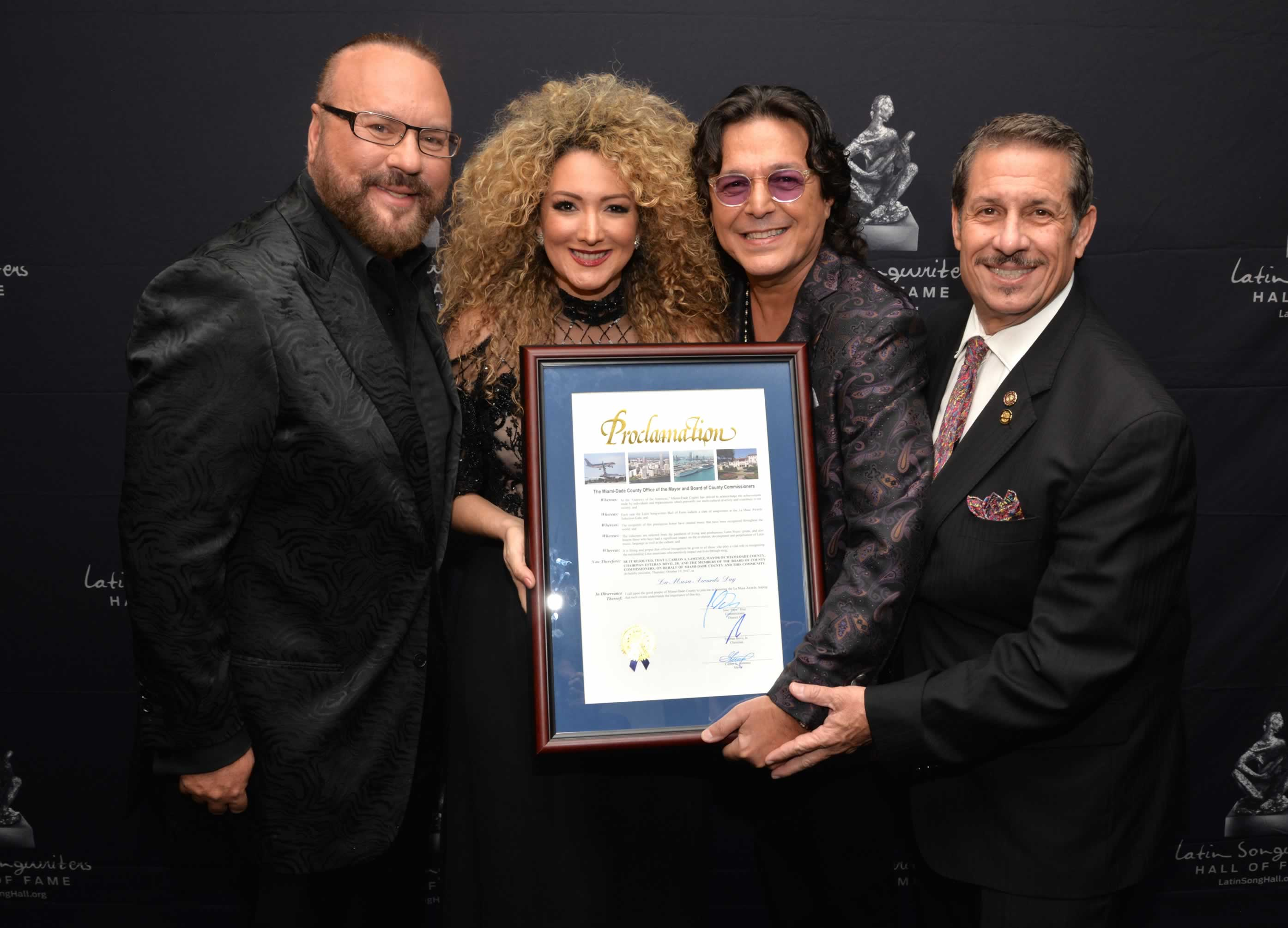 Latin Songwriters Hall of Fame LA MUSA AWARDS 5th Anniversary Induction Gala