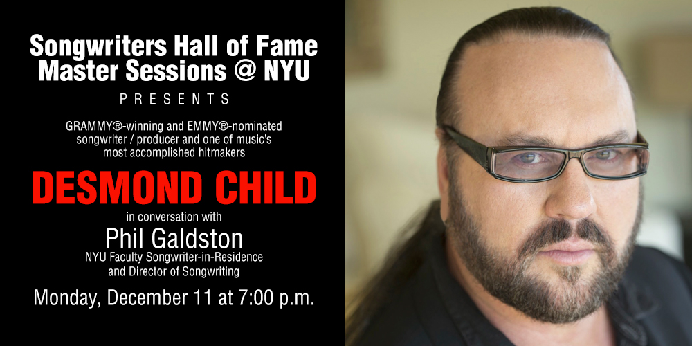 Songwriters Hall of Fame Master Sessions @NYU