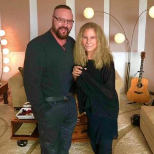 Desmond Child with Barbra Streisand 1