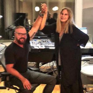 Desmond Child with Barbra Streisand 2