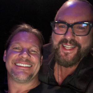 Desmond Child with Chris Jericho 1