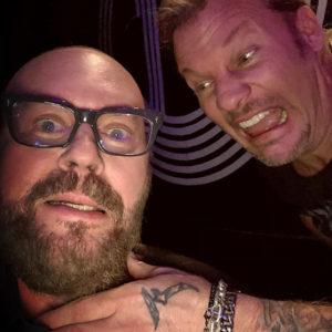 Desmond Child with Chris Jericho 2