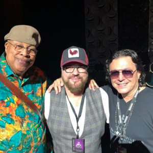 Desmond Child with Chucho Valdes and Rudy Perez
