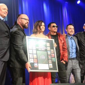 Desmond Child with Claribel Caraballo and Group