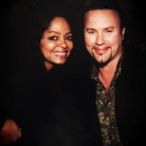 Desmond Child with Diana Ross