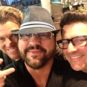 Desmond Child with Joe Don Rooney and Jay DeMarcus