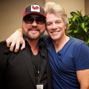Desmond Child with Jon Bon Jovi 3