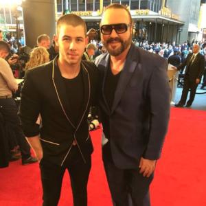 Desmond Child with Nick Jonas 2