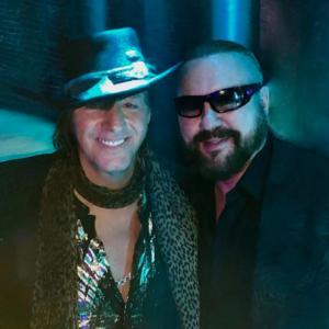 Desmond Child with Richie Sambora 1