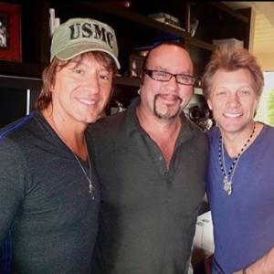 Desmond Child with Richie Sambora and Jon Bon Jovi 2