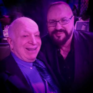 Desmond Child with Seymour Stein
