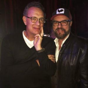 Desmond Child with Tom Hanks