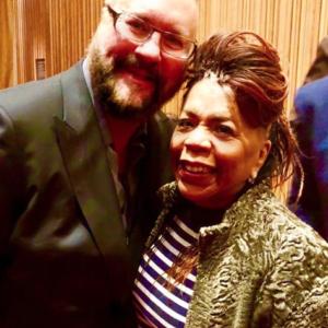 Desmond Child with Valerie Simpson